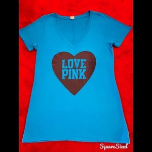 Victoria's Secret PINK T-Shirt with Glitter, Large